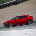 Jaguar i-Pace barely beats electric car lap record at Laguna Seca, set by a Tesla Model 3 at REFUEL 2018