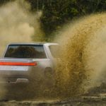 Rivian talking electric adventure trucks while developing electric commercial trucks