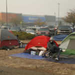 American climate refugees living in tents and cars after Paradise destroyed by fire
