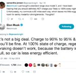 Tesla CEO Elon Musk giving flawed charging advice on Twitter