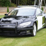 The over-amped response to a Tesla-based Police car running out of power