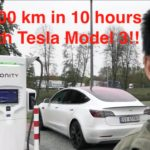 Tesla Model 3 achieves 1000km in 10 hours on Ionity chargers