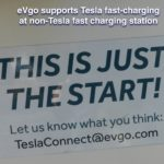 eVgo offering fast charging to Tesla's on non-Tesla charging station